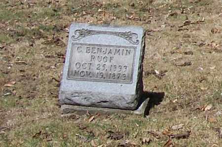 RUOF, C. BENJAMIN - Tuscarawas County, Ohio | C. BENJAMIN RUOF - Ohio Gravestone Photos