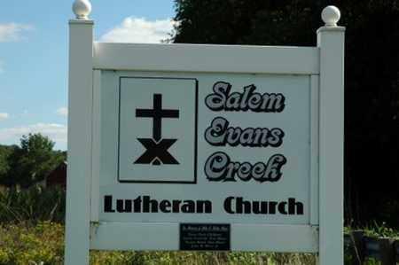 SALEM, EVANS CREEK - Tuscarawas County, Ohio | EVANS CREEK SALEM - Ohio Gravestone Photos