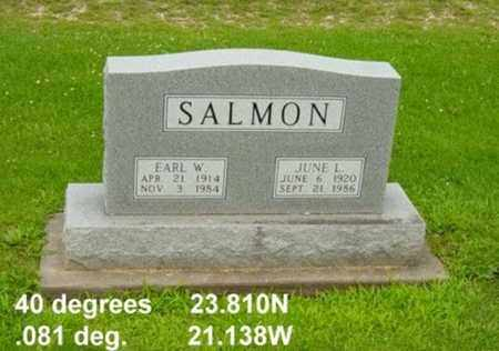 EDWARDS SALMON, JUNE L. - Tuscarawas County, Ohio | JUNE L. EDWARDS SALMON - Ohio Gravestone Photos