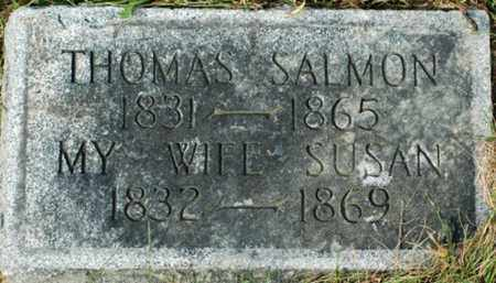 SALMON, SUSAN - Tuscarawas County, Ohio | SUSAN SALMON - Ohio Gravestone Photos