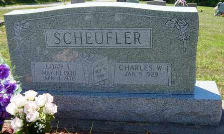 SCHEUFLER, LOAH L. - Tuscarawas County, Ohio | LOAH L. SCHEUFLER - Ohio Gravestone Photos