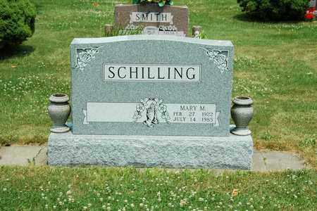 SCHILLING, MARY M. - Tuscarawas County, Ohio | MARY M. SCHILLING - Ohio Gravestone Photos