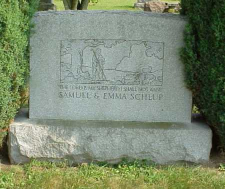RINEHART SCHLUP, EMMA - Tuscarawas County, Ohio | EMMA RINEHART SCHLUP - Ohio Gravestone Photos
