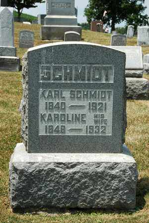 SCHMIDT, KARL - Tuscarawas County, Ohio | KARL SCHMIDT - Ohio Gravestone Photos