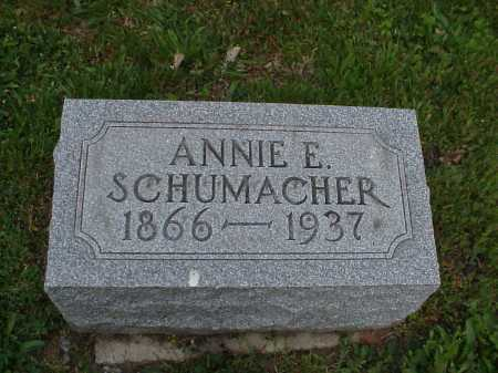 HILL SCHUMACHER, ANNIE - Tuscarawas County, Ohio | ANNIE HILL SCHUMACHER - Ohio Gravestone Photos
