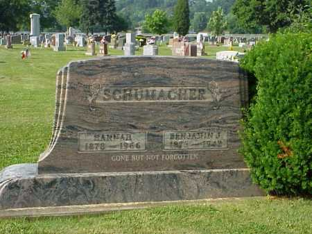 SCHUMACHER, BENJAMIN J. - Tuscarawas County, Ohio | BENJAMIN J. SCHUMACHER - Ohio Gravestone Photos