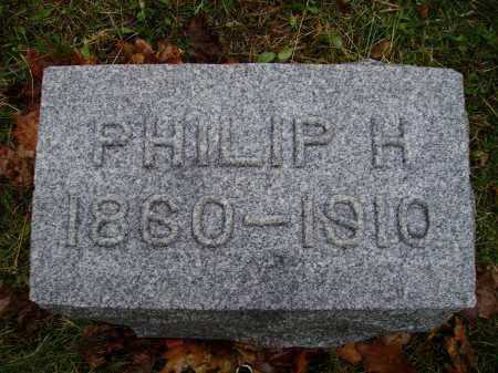 SCHUMAKER, PHILIP H. - Tuscarawas County, Ohio | PHILIP H. SCHUMAKER - Ohio Gravestone Photos