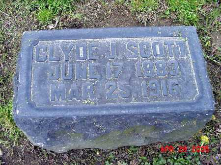 SCOTT, CLYDE J. - Tuscarawas County, Ohio | CLYDE J. SCOTT - Ohio Gravestone Photos
