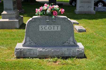 SCOTT, JOHN S. - Tuscarawas County, Ohio | JOHN S. SCOTT - Ohio Gravestone Photos