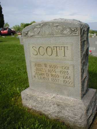 SCOTT, JOHN W. - Tuscarawas County, Ohio | JOHN W. SCOTT - Ohio Gravestone Photos