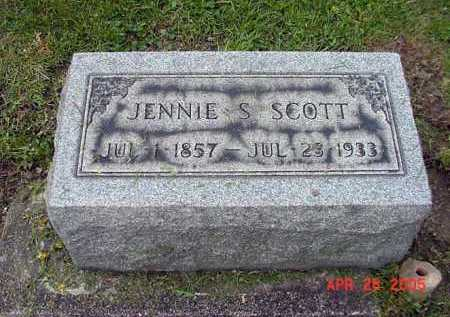 HAMMOND SCOTT, JENNIE - Tuscarawas County, Ohio | JENNIE HAMMOND SCOTT - Ohio Gravestone Photos