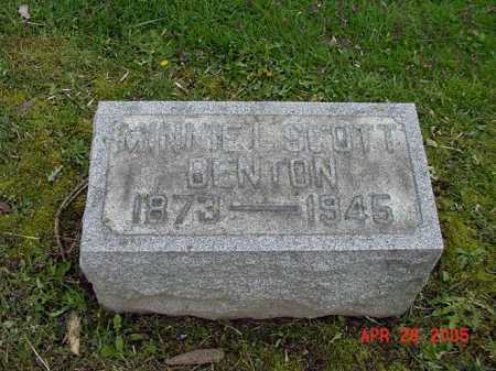STOCKER SCOTT, MINNIE L - Tuscarawas County, Ohio | MINNIE L STOCKER SCOTT - Ohio Gravestone Photos