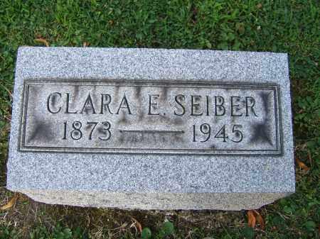SEIBER, CLARA E - Tuscarawas County, Ohio | CLARA E SEIBER - Ohio Gravestone Photos