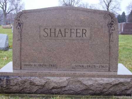 SHAFFER, JOHN DUNCORN - Tuscarawas County, Ohio | JOHN DUNCORN SHAFFER - Ohio Gravestone Photos