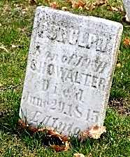SHOWALTER, RUDULPH - Tuscarawas County, Ohio | RUDULPH SHOWALTER - Ohio Gravestone Photos
