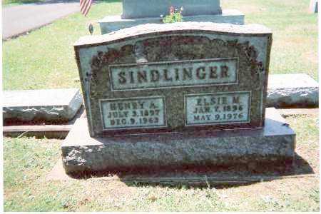 SINDLINGER, HENRY ALPHUS - Tuscarawas County, Ohio | HENRY ALPHUS SINDLINGER - Ohio Gravestone Photos
