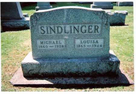 SKAER SINDLINGER, LOUISA - Tuscarawas County, Ohio | LOUISA SKAER SINDLINGER - Ohio Gravestone Photos