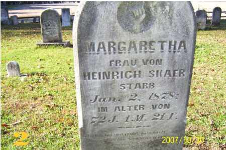 SKAER, MARGARETHA - Tuscarawas County, Ohio | MARGARETHA SKAER - Ohio Gravestone Photos