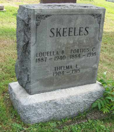 HERRON SKEELES, LOUELLA B. - Tuscarawas County, Ohio | LOUELLA B. HERRON SKEELES - Ohio Gravestone Photos
