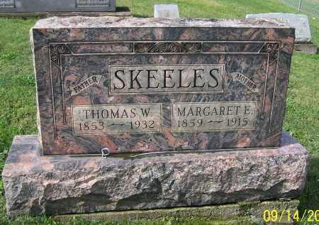 SKEELES, MARGARET E. - Tuscarawas County, Ohio | MARGARET E. SKEELES - Ohio Gravestone Photos