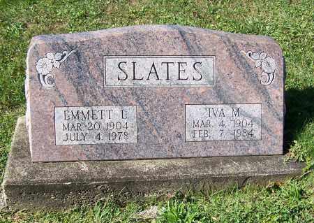 SLATES, IVA M. - Tuscarawas County, Ohio | IVA M. SLATES - Ohio Gravestone Photos