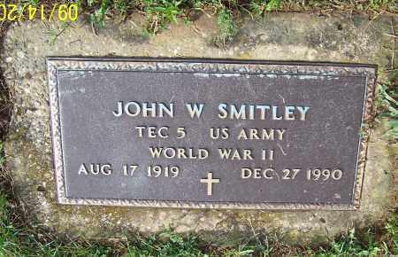SMITLEY, JOHN W.  (MIL) - Tuscarawas County, Ohio | JOHN W.  (MIL) SMITLEY - Ohio Gravestone Photos