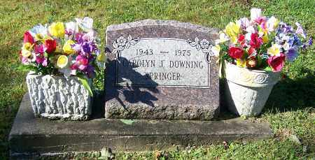 SPRINGER, CAROLYN J. DOWING - Tuscarawas County, Ohio | CAROLYN J. DOWING SPRINGER - Ohio Gravestone Photos