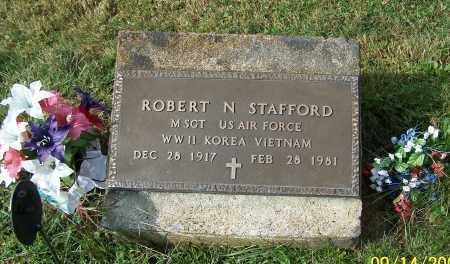 STAFFORD, ROBERT N.  (MIL) - Tuscarawas County, Ohio | ROBERT N.  (MIL) STAFFORD - Ohio Gravestone Photos