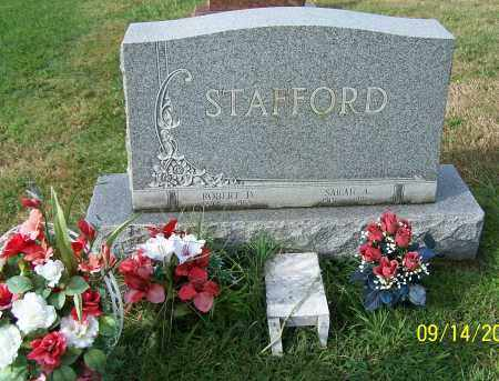 STAFFORD, SARAH A. - Tuscarawas County, Ohio | SARAH A. STAFFORD - Ohio Gravestone Photos