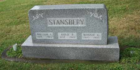 STANSBERY, WILLIAM A. - Tuscarawas County, Ohio | WILLIAM A. STANSBERY - Ohio Gravestone Photos