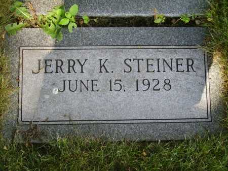 STEINER, JERRY K. - Tuscarawas County, Ohio | JERRY K. STEINER - Ohio Gravestone Photos