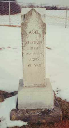 STEPHON, JACOB - Tuscarawas County, Ohio | JACOB STEPHON - Ohio Gravestone Photos