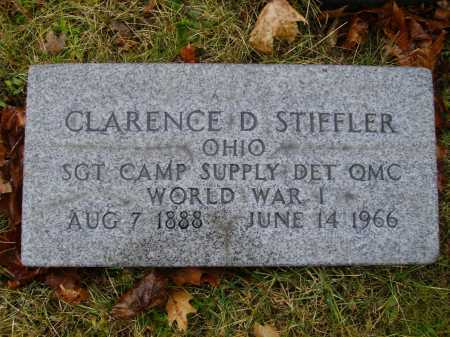 STIFFLER, CLARENCE D. - Tuscarawas County, Ohio | CLARENCE D. STIFFLER - Ohio Gravestone Photos