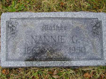 STIFFLER, NANNIE GERTRUDE - Tuscarawas County, Ohio | NANNIE GERTRUDE STIFFLER - Ohio Gravestone Photos