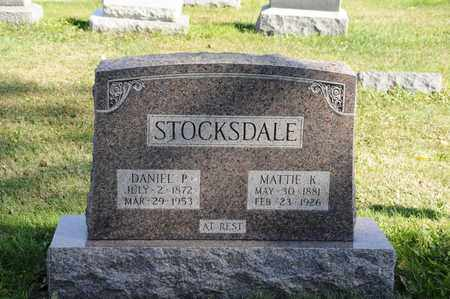 STOCKSDALE, MATTIE K. - Tuscarawas County, Ohio | MATTIE K. STOCKSDALE - Ohio Gravestone Photos