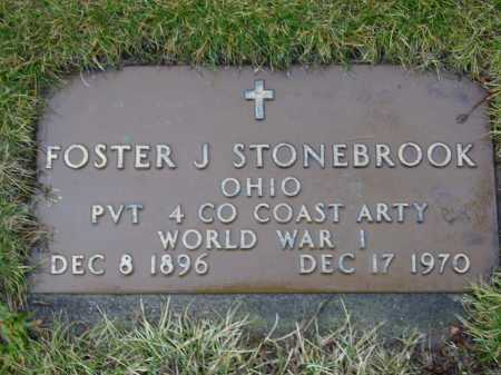 STONEBROOK, FOSTER J. - Tuscarawas County, Ohio | FOSTER J. STONEBROOK - Ohio Gravestone Photos