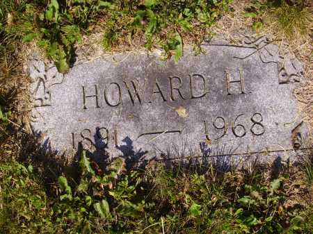 STONEBROOK, HOWARD H. - Tuscarawas County, Ohio | HOWARD H. STONEBROOK - Ohio Gravestone Photos