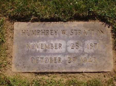 STRATTON, HUMPHREY W. - Tuscarawas County, Ohio | HUMPHREY W. STRATTON - Ohio Gravestone Photos