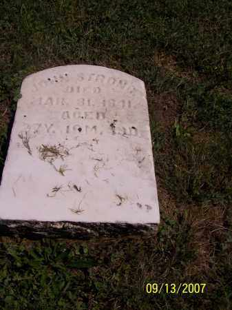 STRONG, JOHN - Tuscarawas County, Ohio | JOHN STRONG - Ohio Gravestone Photos