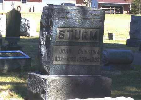 STURM, CHRISTINA - Tuscarawas County, Ohio | CHRISTINA STURM - Ohio Gravestone Photos