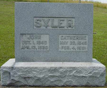 SYLER, CATHERINE - Tuscarawas County, Ohio | CATHERINE SYLER - Ohio Gravestone Photos