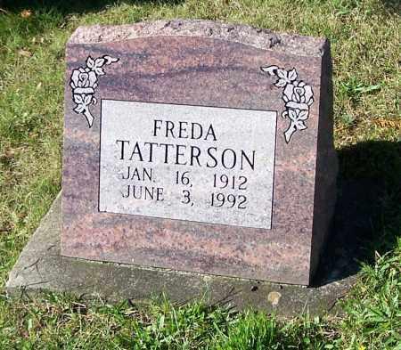 TATTERSON, FREDA - Tuscarawas County, Ohio | FREDA TATTERSON - Ohio Gravestone Photos