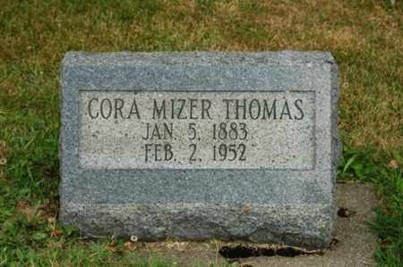 THOMAS, CORA - Tuscarawas County, Ohio | CORA THOMAS - Ohio Gravestone Photos