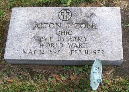 TOPE, ALTON J.  (MIL) - Tuscarawas County, Ohio | ALTON J.  (MIL) TOPE - Ohio Gravestone Photos