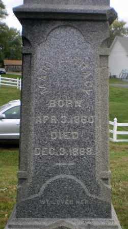 TRACY, MARY E - Tuscarawas County, Ohio | MARY E TRACY - Ohio Gravestone Photos