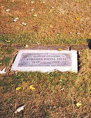 "RIPPEL TRITT, CHRISTINA JOHANNA ""HANNA"" - Tuscarawas County, Ohio | CHRISTINA JOHANNA ""HANNA"" RIPPEL TRITT - Ohio Gravestone Photos"
