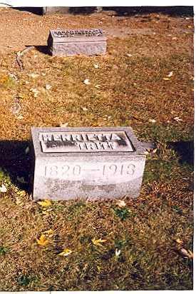TRITT, HENRIETTA - Tuscarawas County, Ohio | HENRIETTA TRITT - Ohio Gravestone Photos