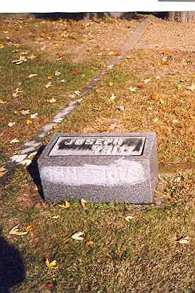 TRITT, JOSEPH - Tuscarawas County, Ohio | JOSEPH TRITT - Ohio Gravestone Photos