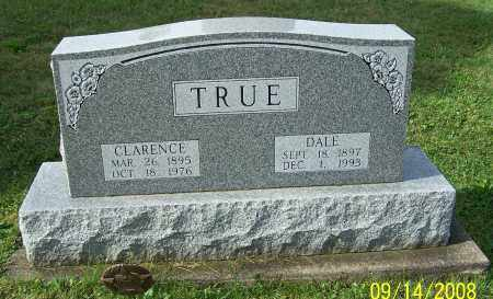 TRUE, CLARENCE - Tuscarawas County, Ohio | CLARENCE TRUE - Ohio Gravestone Photos