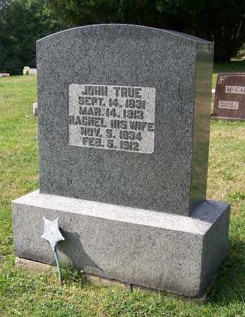 TRUE, JOHN - Tuscarawas County, Ohio | JOHN TRUE - Ohio Gravestone Photos